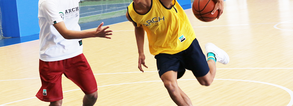 Arch basketball game HIGH-FIVE PARK(ハイファイブ・パーク)